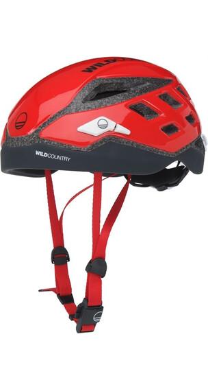 Wild Country Focus Helmet Red/Black